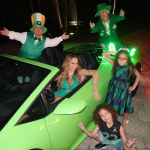 Mariah Carey celebrates St. Patrick's day with her kids