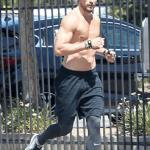 Gabriel Aubry Shows Off His Hot Body