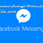 Can You Use Messenger Without Facebook