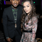 Hailee Steinfeld Meets With Usher at JDRF Imagine Gala