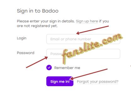 Badoo Login badoo login badoo sign up how to create account badoo