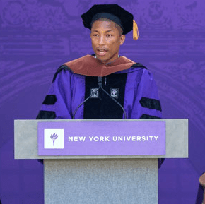 Pharrell Williams Speech About Women's Rights During NYU Commencement
