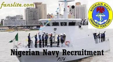Nigerian Navy Recruitment 2017