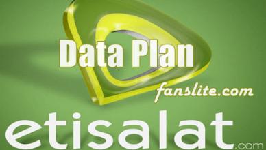 Etisalat Data Plan