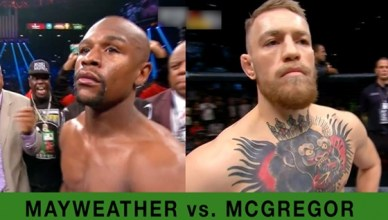 Floyd Mayweather Wins Conor McGregor