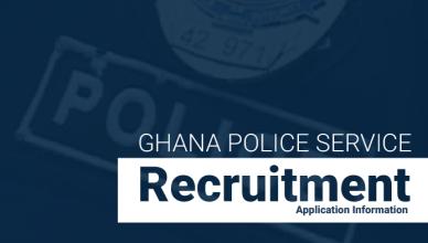 Ghana Police Recruitment 2018
