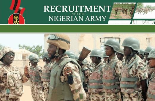 Nigerian Army Recruitment Form 2021