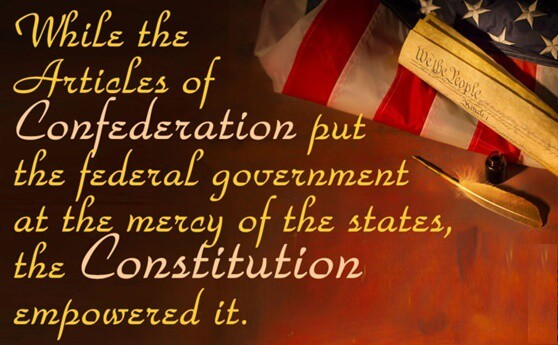 Differences Between Articles of Confederation and Constitution