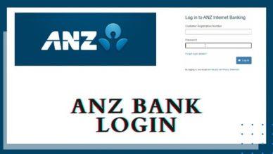 ANZ Australia Online Banking Login