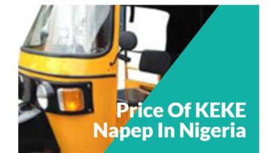 Keke Napep Prices in Nigeria - Brand New and Fairly Used Prices