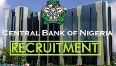 CBN Recruitment Application Portal - Requirment and Eligibility