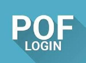 POF Account Registration Portal www.pof.com