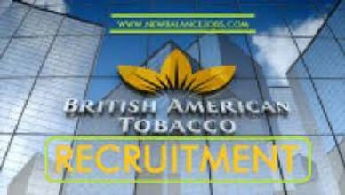 British American Tobacco Nigeria Recruitment Application Form
