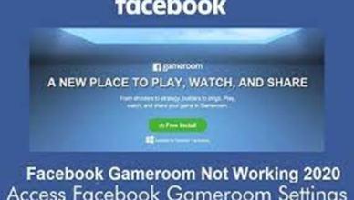 Facebook Gameroom 2020