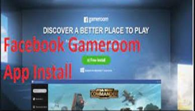 Facebook Gameroom Installing