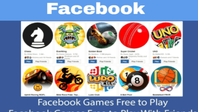Play Free Facebook Games