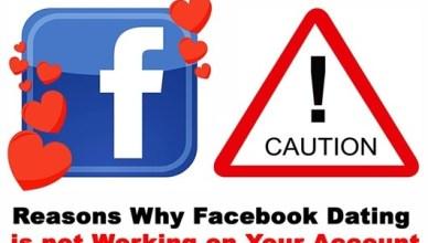 Facebook Dating Not Responding