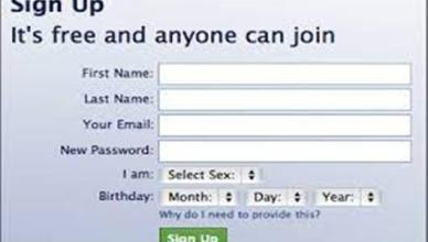 Sin Up Free Facebook Account