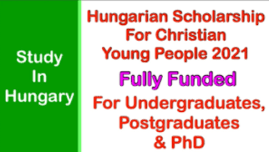 Christian Young Scholarship Hungary   Application Requirement and Procedures