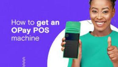 Opay Application form - How to Apply for Opay POS Machine