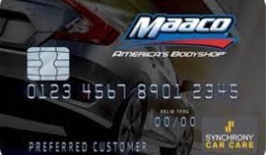 Maaco Credit Card Application   Sign up Maaco Credit Card