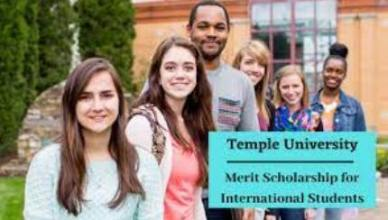 Temple University Scholarship for International Students - Application Update