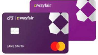 Wayfair Store Credit Card