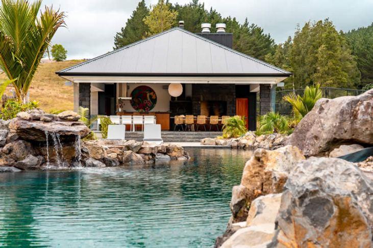 View of cabana