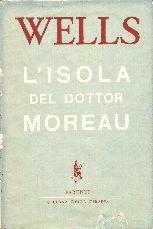 copertina di L'isola del dottor Moreau