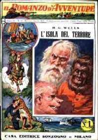 copertina di L'isola del terrore