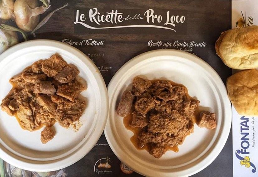 Frütura alla cipolla bionda di Cureggio e Fontaneto