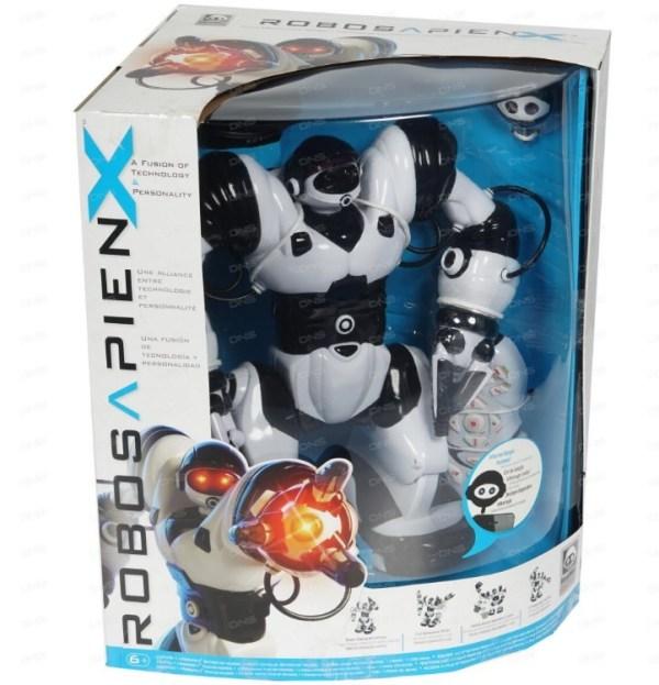 Робосапиен робот X-NEW — интерактивный робот нового ...