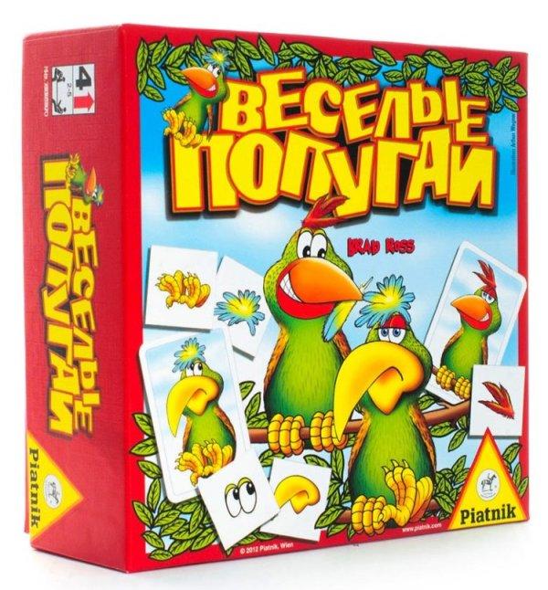 """""""Веселые попугаи"""" настольная игра для детей от 4-лет ..."""