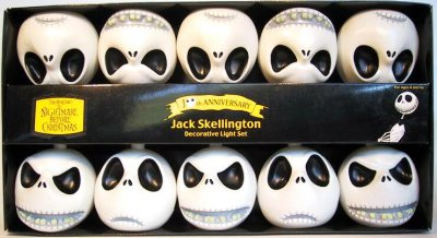 Jack Skellington Head Lights Set 1 From Our Nightmare