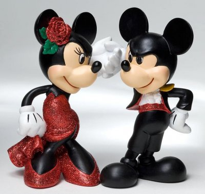Mickey And Minnie Paso Doble Figure From Our Other