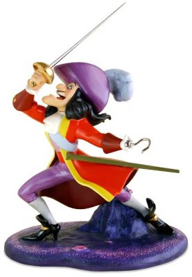 I Ve Got You This Time Captain Hook Figurine Wdcc