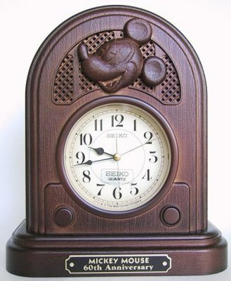 Mickey Mouse Clock From Our Clocks And Watches Collection