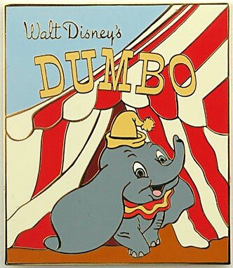 Dumbo Book Cover Pin From Our Pins Collection Disney