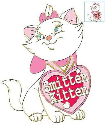 Marie Smitten Kitten St Valentines Day Series Pin From