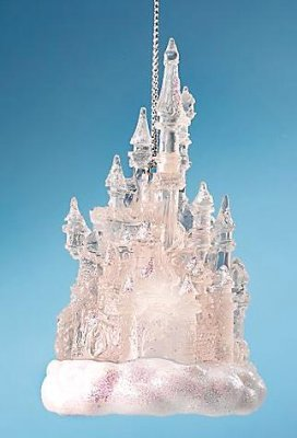 Disneyland Castle Light Up Ornament From Our Christmas