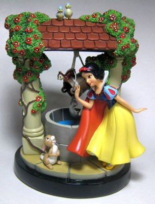 Snow White Wishing Well Fountain Figurine From Our Other Collection Disney Collectibles And