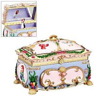 Ariel Deluxe Musical Jewelry Box From Our Other Collection