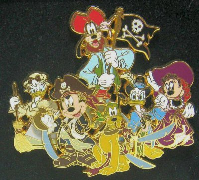 Mickey Mouse Amp Friends Pirates Of The Carribean Pin From