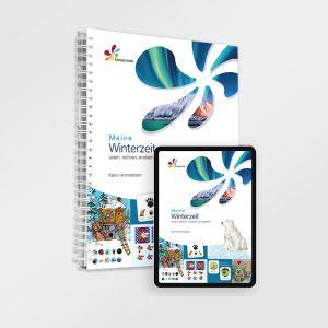 Meine Winterzeit - Jahreszeit Winter - Lernmaterial für Kinder