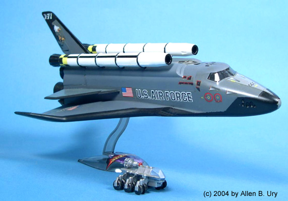 """X-71 Space Shuttle from """"Armageddon"""" by Revell/Monogram"""