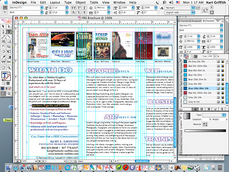 Banging one out in InDesign. Yeah, I know what Im doin
