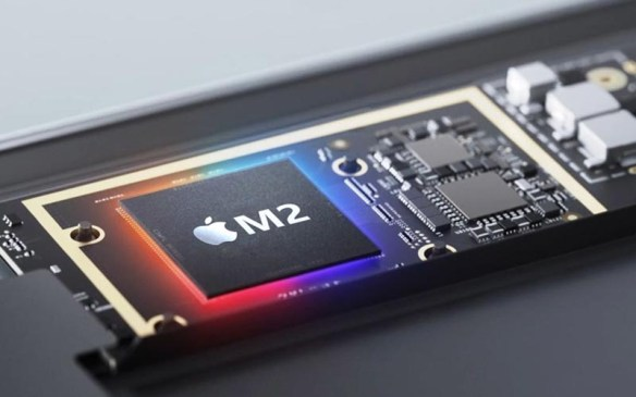 Apple M2 Chip in production