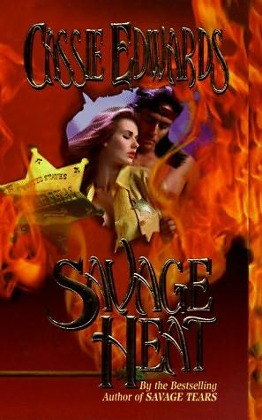 book cover of   Savage Heat    (Savage, book 6)  by  Cassie Edwards