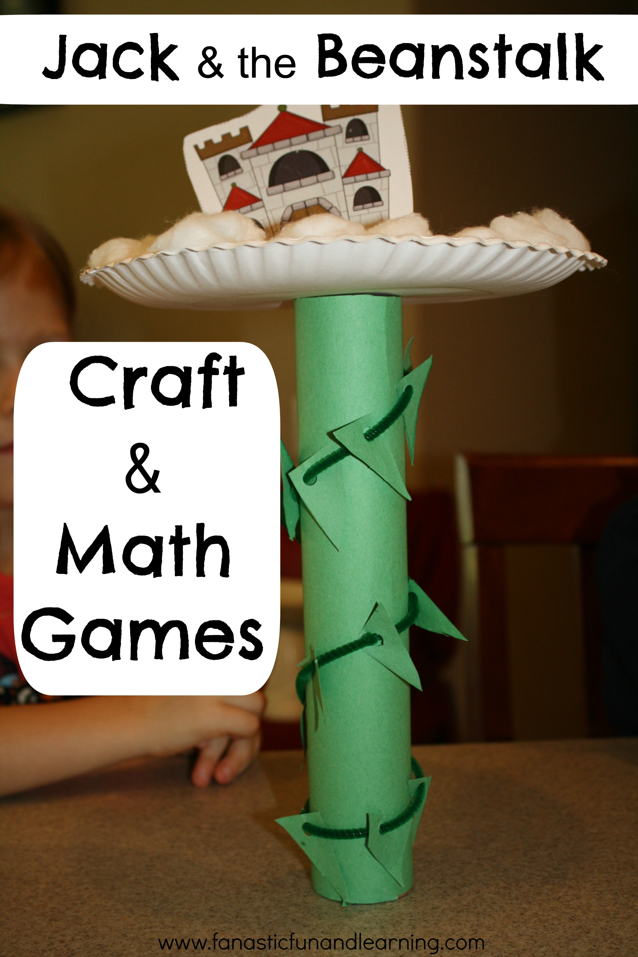 Jack And The Beanstalk Craft And Math Activities