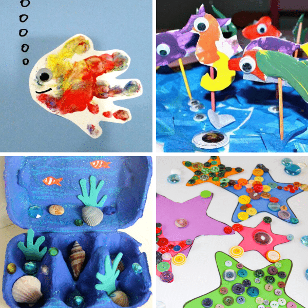 Sand crafts for kids are fun art projects parents and kids can enjoy doing together. 15 Creative Ocean Crafts For Kids